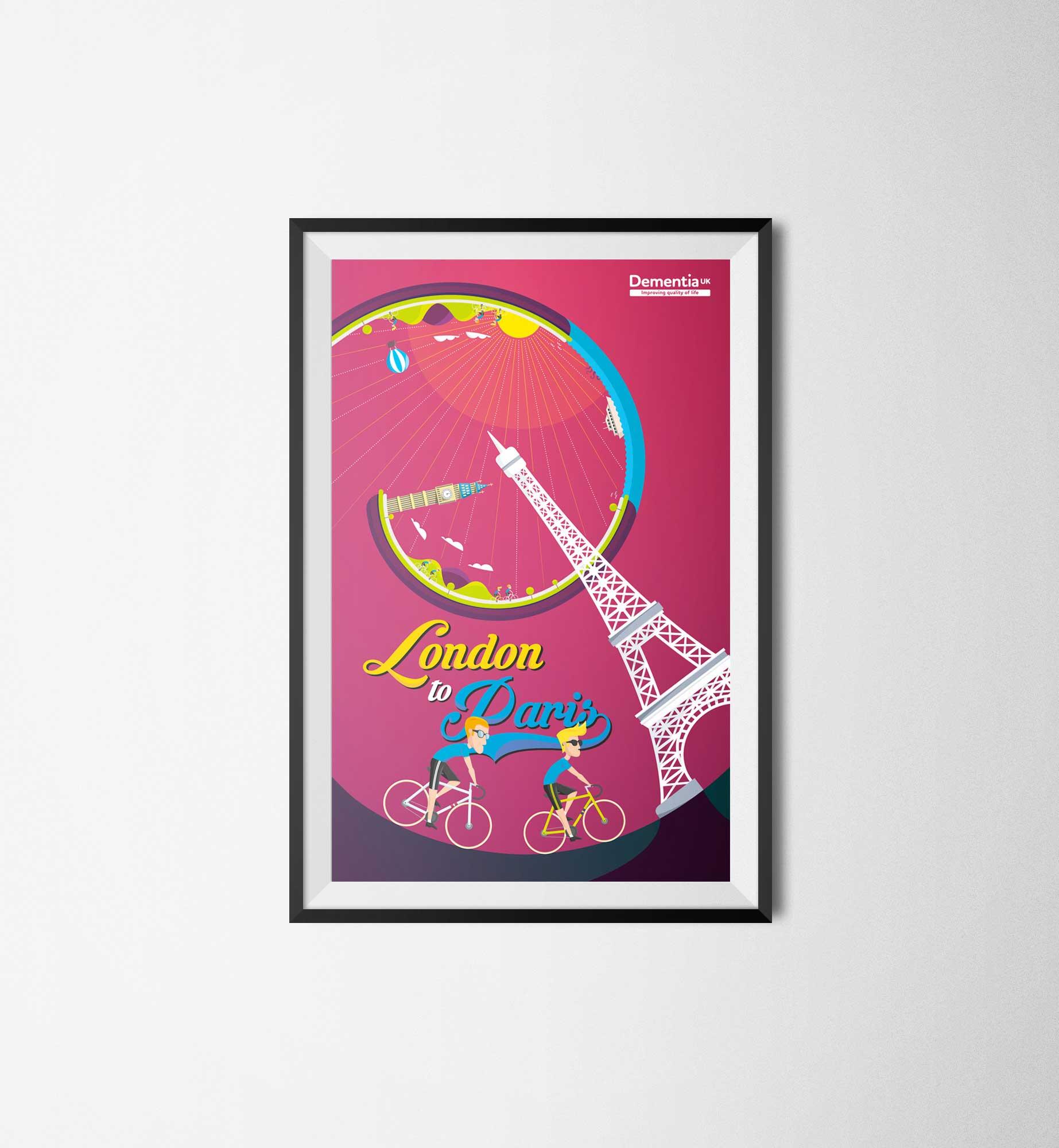 Poster design london - London To Paris Poster Design London To Paris Poster Design 2